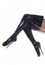 7 Inch Spike Heel Ballet Thigh Boots Women'S Size Shoe