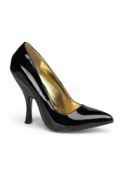 Pinup Couture BOMBSHELL-01, 4 1/2 Inch Curved Heel Classic Pump