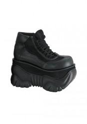 4 Inch Platform Laceup Sneaker Men'S Size Shoe