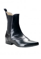 Men'S 1 Inch Heel Beatle Ankle Boot