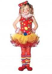 5Pc.Circus Clown Child's Costume