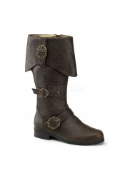 Funtasma CARRIBEAN-299, Men's Cuffed Knee Boot With Octopus Buckles