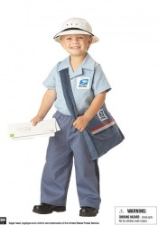 Mr. Postman Cute Kids Costume
