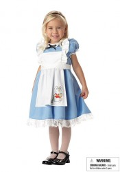 Lil' Alice In Wonderland Cute Kids Costumes