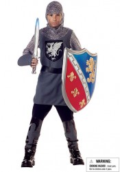 Valiant Knight Kids Medieval Costume