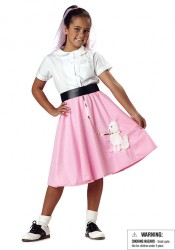 Poodle Skirt Kids Party Costume Accessory