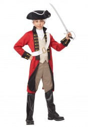 Child British Redcoat