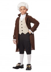 Child Colonial Man/Benjamin Franklin
