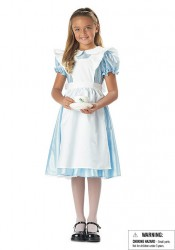 Alice Cute Kids Fairytale Costume