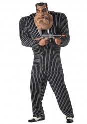 Men'S Massive Mobster Party Costume