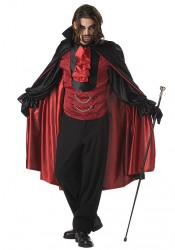 Mens Count Bloodthirst Party Costume