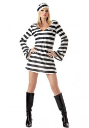 Convict Chick Party Costume