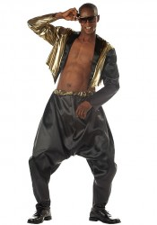 Mens Old School Rapper Party Costume