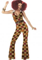 Boogie Babe Retro Go Go Party Costume