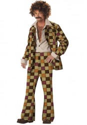 Men'S Disco Sleazeball Holiday Party Costume