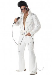 Men'S King Of Rock Legend Holiday Party Costume