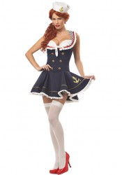 Nautical Doll Pinup Costume