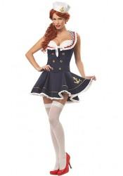 Nautical Doll Pinup Costume