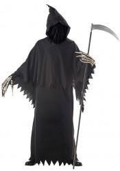 Men's Grim Reaper Deluxe Ghost Demon Horror Costume