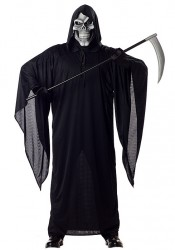 Men's Grim Reaper Ghost Demon Horror Costume