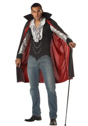 Mens Very Cool Vampire Party Costume