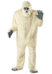 Men'S Abominable Snowman Yeti Party Costume