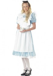 Alice Dress With Apron Costume