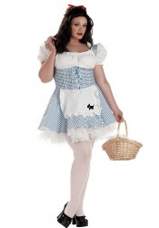 Storybook Sweetheart Plus Size Dorothy Holiday Party Costume