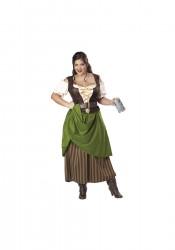 Tavern Maiden Plus Size Costume