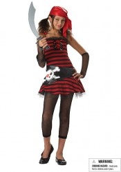 Pirate Cutie Junior Teen Party Costume