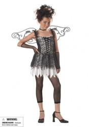 Dark Angel Junior Teen Holiday Party Costume