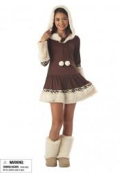 Polar Princess Junior Teen Holiday Party Costume