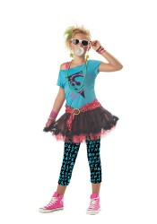 80'S Valley Girl Junior Teen Holiday Party Costume