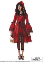 Red Riding Hood Junior Teen Holiday Party Costume