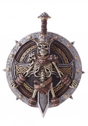 Viking Lord Shield And Sword