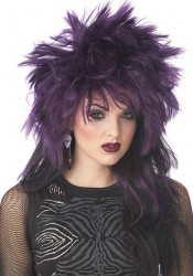 Rock It! Wig Holiday Party Costume Accessory