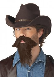 The Rustler Men'S Adult Goatee Holiday Party Costume Accessory