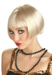 Blonde Flirty Flapper Wig