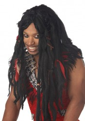 Voodoo Dreads Wig Holiday Party Costume Accessory