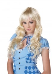 Long Blonde Coquette Wig Accessory