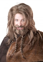 Viking Wig, Beard And Moustache