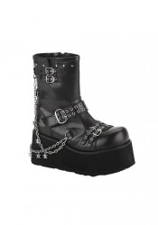 3 1/2 Inch Boot Women'S Size Shoe With Detachable Chains