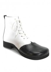 Two-Tone Clown Shoes. Men'S Size Shoe