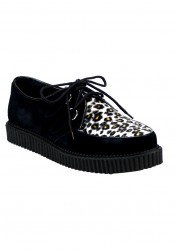 Men'S 1 Inch Imitation Fur Creeper Shoe