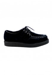 Men'S 1 Inch D-Ring Lace-Up Suede Creeper Shoe