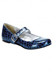 Women's Maryjane Cheetah Flat