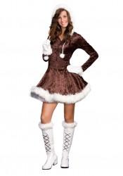 Junior's Eskimo Cutie Pie Girl Costume