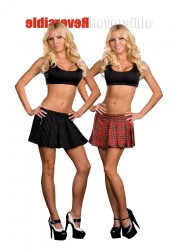 Reversible School Girl/Gangster Skirt Costume