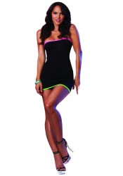 Dreamgirl 7399 Color Me Sexy Dress and Thong
