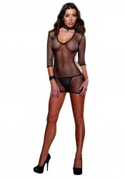 Women's Dress, Collar And G-String Diamond